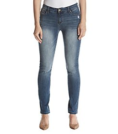 Jones New York Faded Skinny Jeans