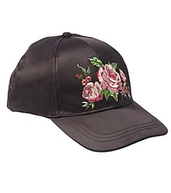 Collection 18 Rose Satin Baseball Cap
