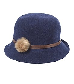 Collection 18 Fur Pom Packable Cloche