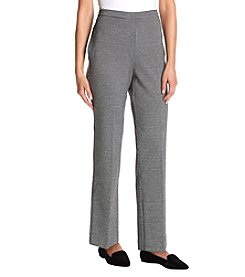 Alfred Dunner Pull On Stretch Pants