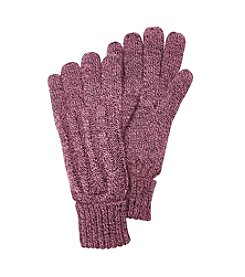 Heat Holders Ribbed Knit Gloves