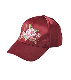 Collection 18 Satin Roses Baseball Cap