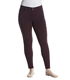 Democracy Plus Size Brushed Stretch Twill Pants