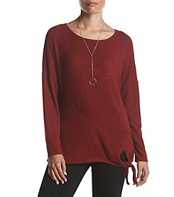 AGB Fuzzy Rib Jersey Top
