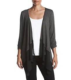 AGB Ruched Sleeve Cardigan