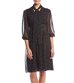 Max Studio Edit Polka Dot Dress