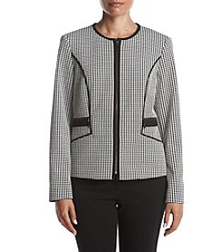 Kasper Houndstooth Jacket