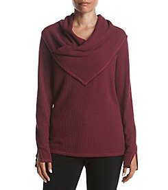 Democracy Cowl Neck Pullover Top