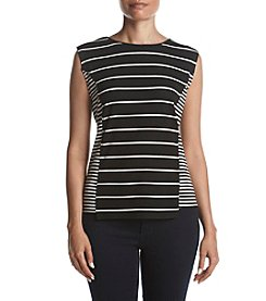 Jones New York Striped Top