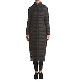 MICHAEL Michael Kors Long Packable Hooded Coat