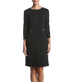 Nine West Zip Pocket Detail Dress
