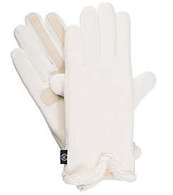 Isotoner Signature Fleece Gloves with Watch Vent