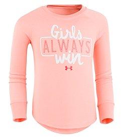 Under Armour® Girls' 2T-6X Long Sleeve Thermal Top