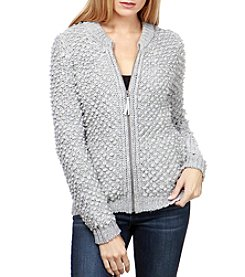 Lucky Brand Sweater Bomber Jacket