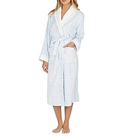 Aria Chenille Pailsey Print Robe