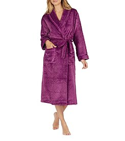 Aria Chenille Textured Tie Belt Robe