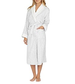 Aria Chenille Paisley Pattern Robe