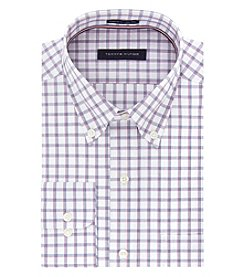 Tommy Hilfiger Men's Long Sleeve Check Button Down Shirt