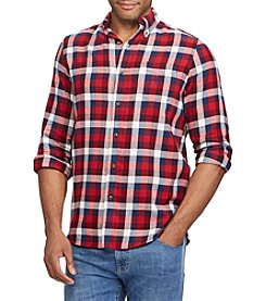 Chaps Men's Performance Flannel Button Down
