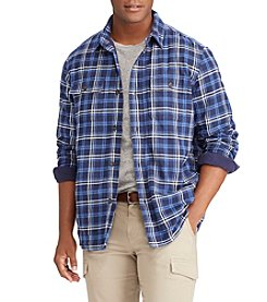 Chaps Men's Plaid Shirt Jacket