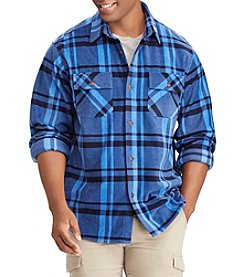 Chaps Men's Big & Tall Long Sleeve Flannel Shirt