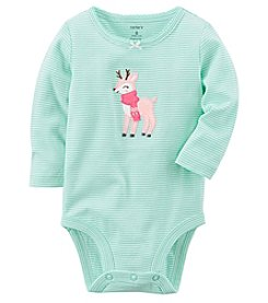 Carter's Baby Girls' Reindeer Collectible Bodysuit