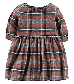 Carter's Baby Girls' Plaid Flannel Dress