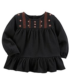 Carter's Baby Girls' Embroidered Tunic