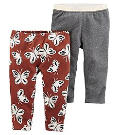 Carter's Baby Girls' 2-Pack Leggings