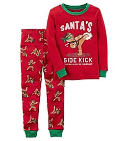 Carter's Baby Boys' 12M-4T 2 Piece Gingerbread Snug Fit Cotton Pajamas