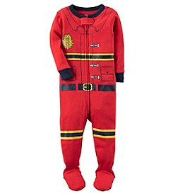 Carter's Baby Boys' 18M-24M One Piece Firefighter Snug Fit Cotton Pajamas