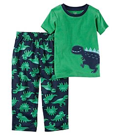 Carter's Boys' 4-8 2 Piece Dinosaur Cotton Pajama Set