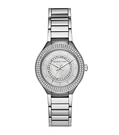Michael Kors Women's Silvertone Round Face Kerry Watch