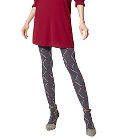 HUE Chain Link Tights With Cable Texture