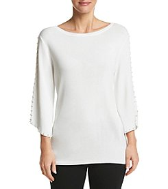 Studio Works Wide Neck Pullover Top