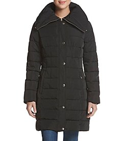 Tommy Hilfiger Exaggerated Collar Puffy Coat