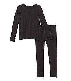 Cuddl Duds Boys' 2T-5T Comfortech® 2 Piece Stretch Top And Pants Set