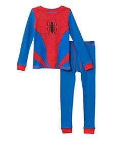 Cuddl Duds Boys' 2T-5T Spiderman Top And Pants Set
