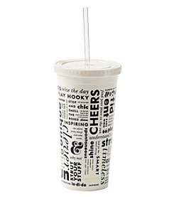 kate spade new york What Say Tumbler