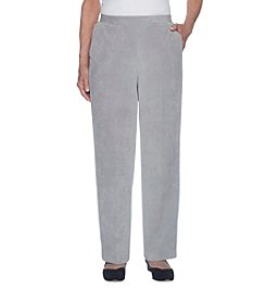 Alfred Dunner Stretch Cordouroy Pants