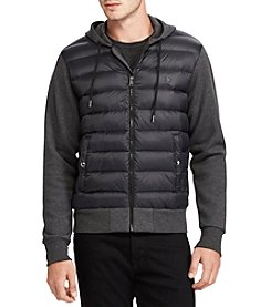 Polo Ralph Lauren Men's Paneled Down Hoodie