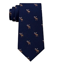 Tommy Hilfiger Men's Moose Club Tie