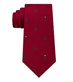 Tommy Hilfiger Men's Christmas Tree Tie