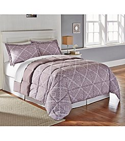 Living Quarters Leona Reversible Microfiber Down-Alternative Comforter
