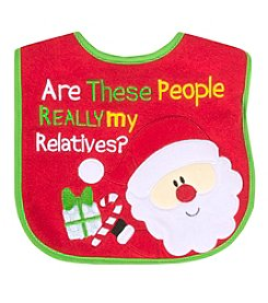 Cuddle Bear My Relatives Bib