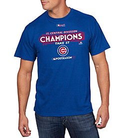 Majestic MLB® Men's Chicago Cubs NL Central Divison Champions Tee