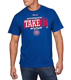 Majestic MLB® Men's Chicago Cubs Postseason Collection Tee