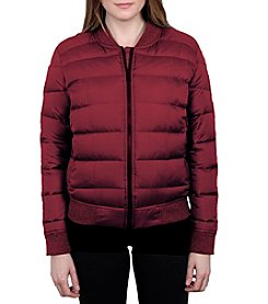 William Rast Women's Quilted Varsity Jacket
