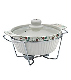 Pfaltzgraff Soup Tureen with Wire Rack