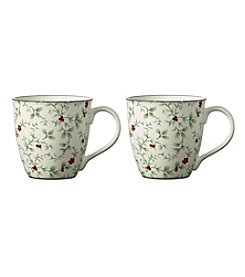 Pfaltzgraff Set of 2 Winterberry Mugs